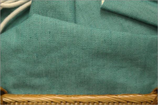 和装バッグの生地拡大画像です。